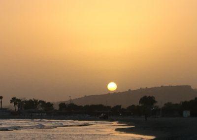 Sundown at our beach