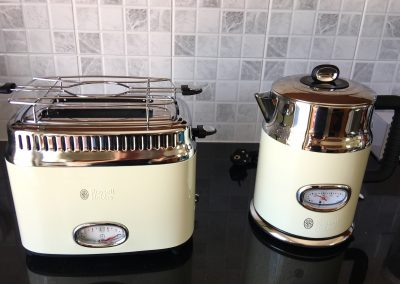 Water cooker and toaster